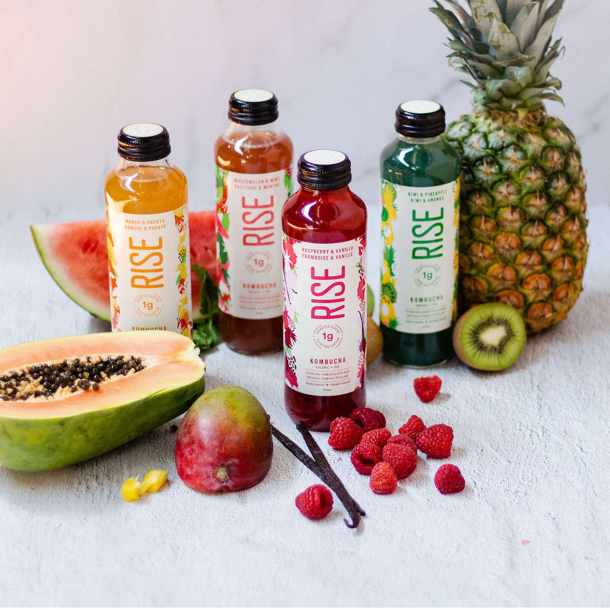Rise Kombucha Products